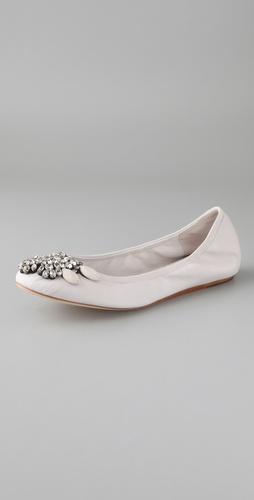 Vera Wang Ballet Flats
