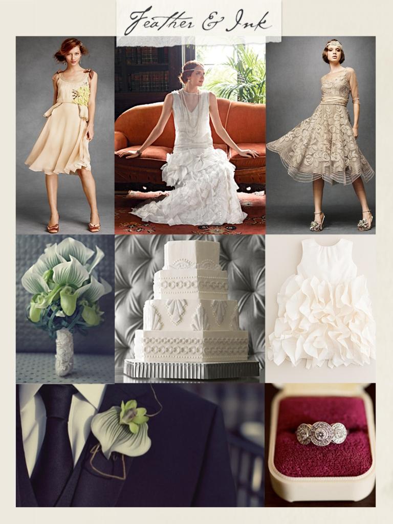 Art Deco Vintage Glam Wedding
