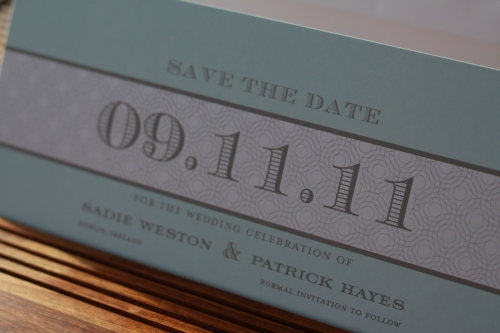 Mr Draper Save the Date